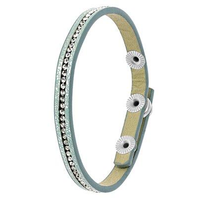 Byoux armbandje licht blauw