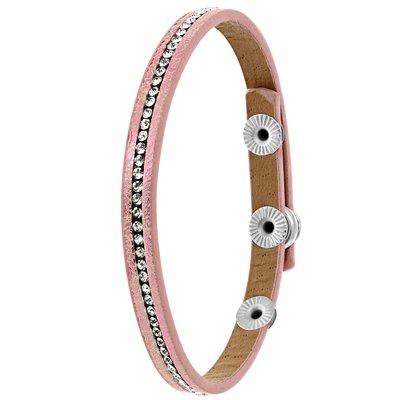 Byoux armbandje licht roze