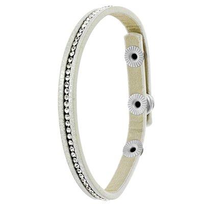 Byoux armbandje wit