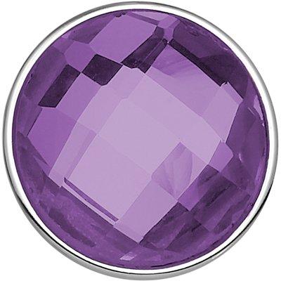 Stalen chunk crystal paars